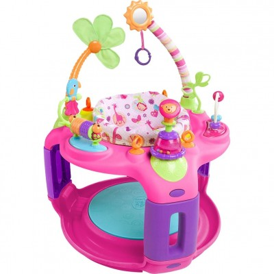 Bright Starts Pretty In Pink-Sweet Safari Bounce-a-Round