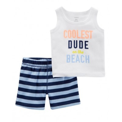 Carter's 2-Piece Crab Tank & Short Set