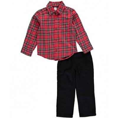 Carter's Boys' 2 Pieces Playwear Sets-red