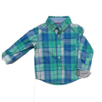 Checkered Button-Front Shirt 3