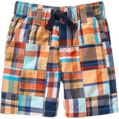 Gymboree Little Boys Plaid Shorts -Multicolor