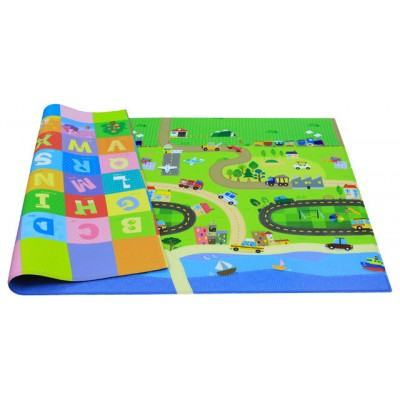 Baby Care Large Baby Play Mat in Happy Village