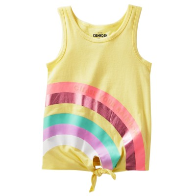 Mix Kit Rainbow Tie Tank Top