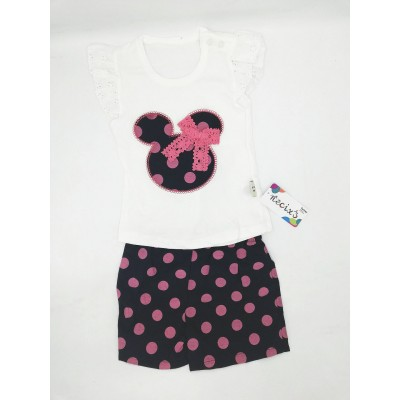 Necix's Minnie Mouse Top and Short 3