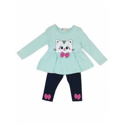 Pengim Boutique Kitten Design Two Piece Set 3