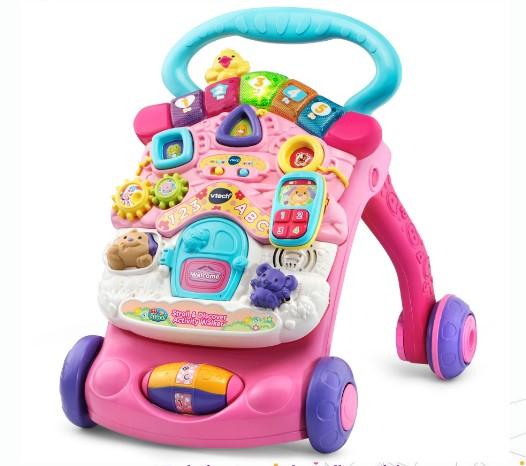 VTech First Steps Baby Walker – Pink