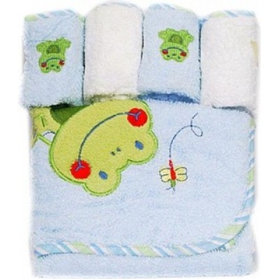 BAATCO Hooded & Washcloth