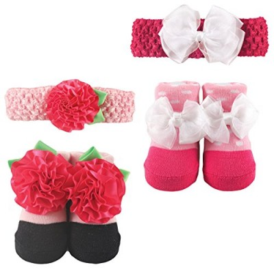 Luvable Friends Headband & Socks 2