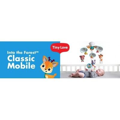 Tiny Love Classic Into The Forest Developmental Mobile