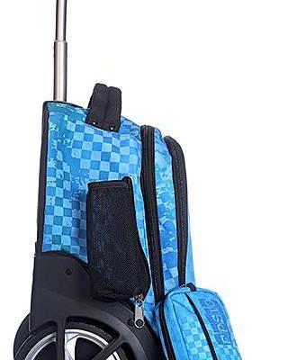Glossy Bird Wheeled Back Pack Trolley Bag