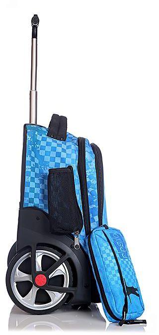 Glossy Bird Wheeled Back Pack Trolley Bag 3