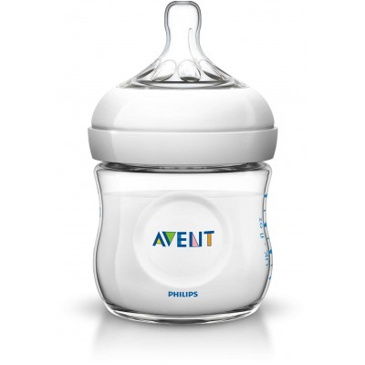 Avent 4 oz Natural Bottle
