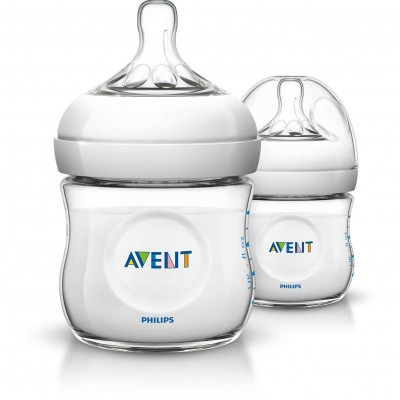 Avent Natural 4 Oz Feeding Bottle