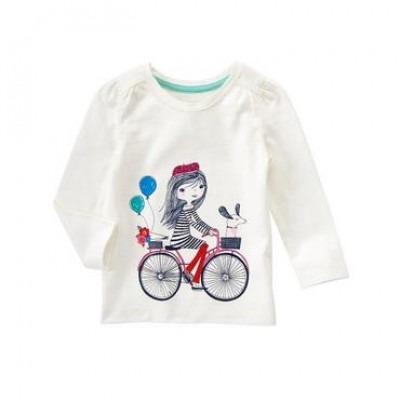 Bike Long Sleeve Tee (Gymboree)