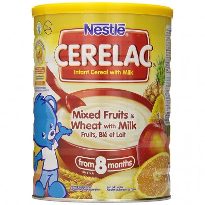 Cerelac Instant Cereal Mixed Fruits Wheat and Milk