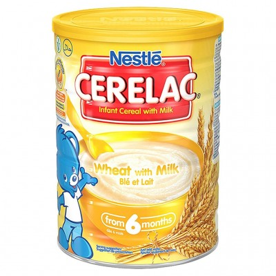 Cerelac Instant Cereal Wheat and Milk