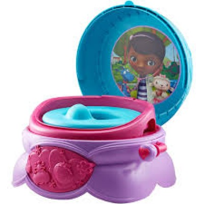 Disney Doc Mcstuffins 3-in-one-potty system