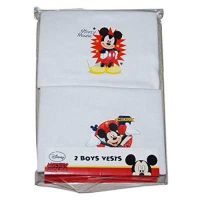 Disney Mickey Mouse 2 Boys Vests 3