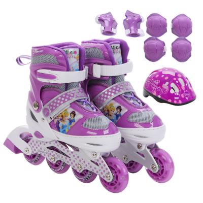Disney Princess Inline Skate,roller Skating Shoes