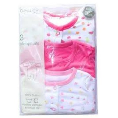 George Baby 3 Sleep Suits 3