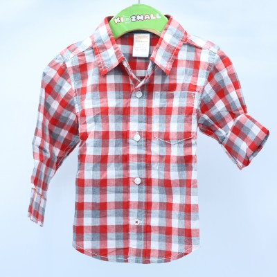 Gymboree Baby Boys Plaid Shirt 6-12 months