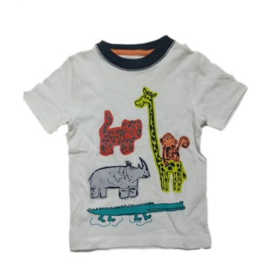 Gymboree Jungle White Tops & T-Shirts 4