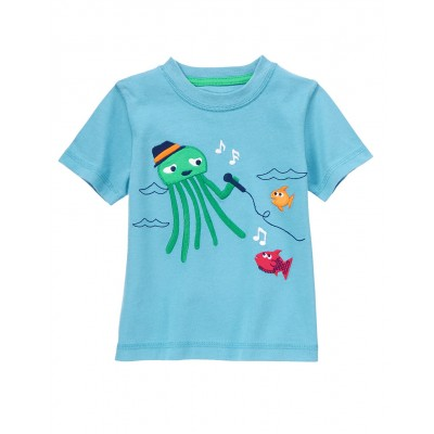 Gymboree Octopus Singing Tee Shirt