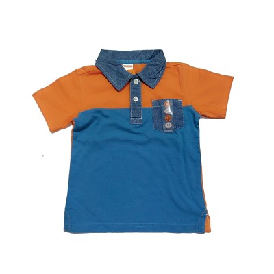 Gymboree Orange Polo Shirt Boy Outfit NWT