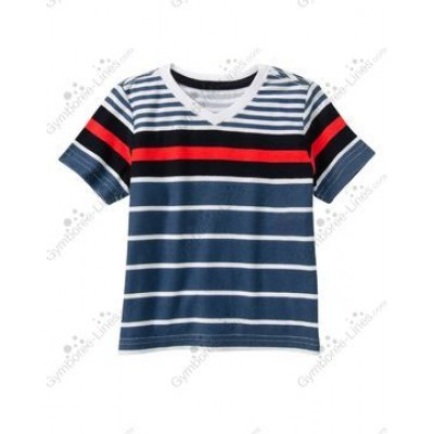 Gymboree Striped V-Neck Tee 3