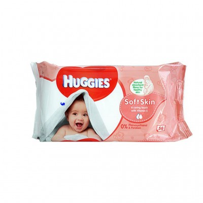 Huggies Soft Skin Wipes 3