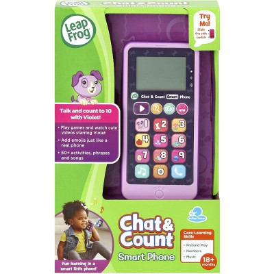 LeapFrog Chat & Count Smart Phone Violet
