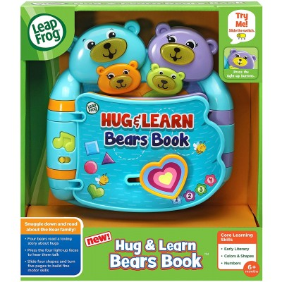 LeapFrog Hug & Learn Bears Book, Blue