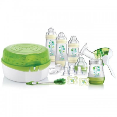 Mam Breast Feeding Steriliser Set 3