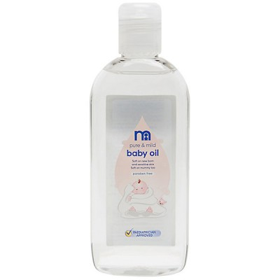 Mothercare Baby Oil 3