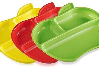 Munchkin Lil' Apple Plates – 3 Plates