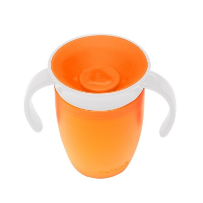 Munchkin Miracle 360° Trainer Cup -7oz/207ml (Orange)
