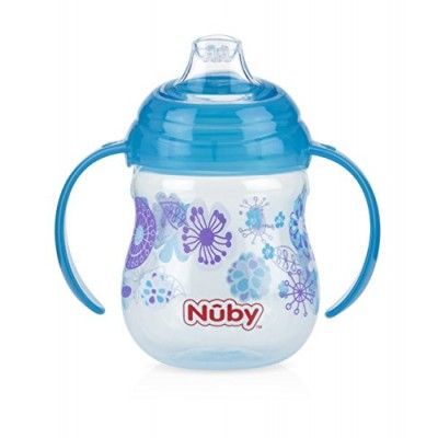 Nuby 1st Sipeeze No Spill Blue Colour