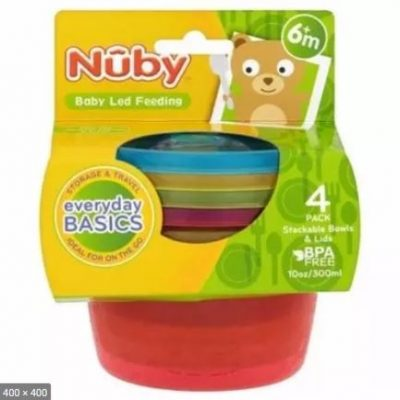 Nuby 4 Packs Food Pots And Lid2