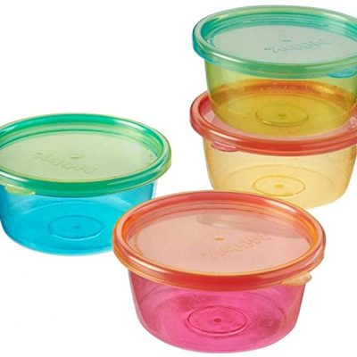 Nuby 4 Packs Food Pots And Lid