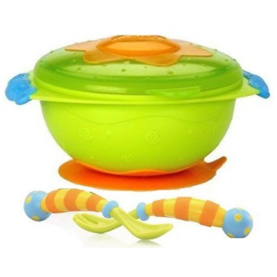 Nuby Wacky Feeding Set 3