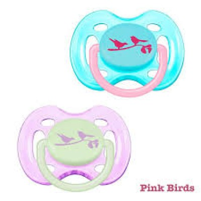 Philip Avent 2 Pack Freeflow Orthodontic Soothers