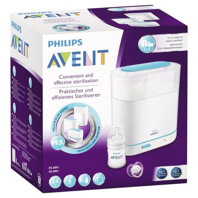 Philips Avents Convenient And Effective Sterilization 3 in 1