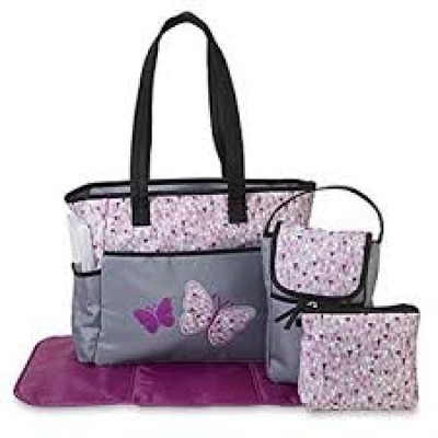 Tender Kisses Diaper Bag 5 Pieces Set 3