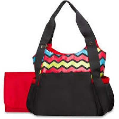 Tender Kisses Multicolored Diaper Bag