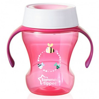 Tommee Tippee Explora 360 Trainer Cup 230ml (Pink)
