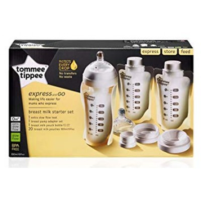 Tommee Tippee Express and Go Breast Milk Starter