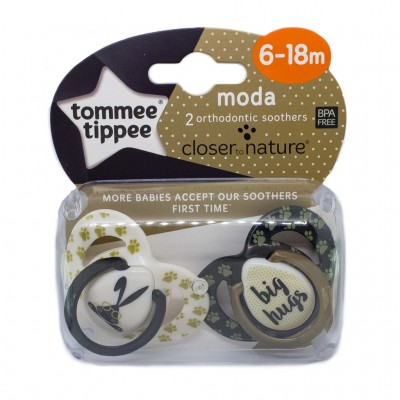Tommee Tippee Fun Moda Soother for Girls 6-18 Months