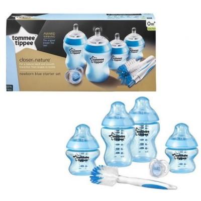 Tommee Tippee Newborn Starter Kit Feeding Bottle -Blue