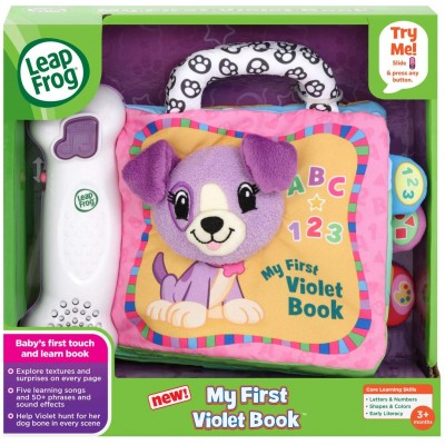 LeapFrog My First Violet Book – Purple