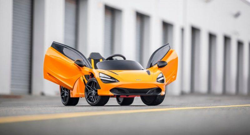 Mclaren 720s Kids Electric Ride on Cars 3